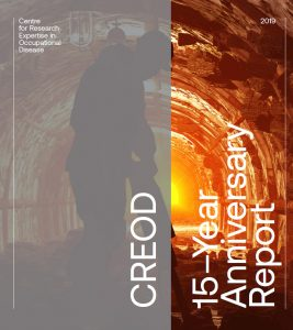 Cover image of CREOD 15-Year Anniversary Report